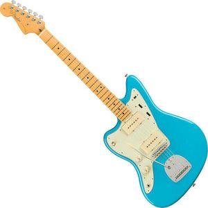 Fender American Professional II Jazzmaster MN LH Albastru Miami imagine