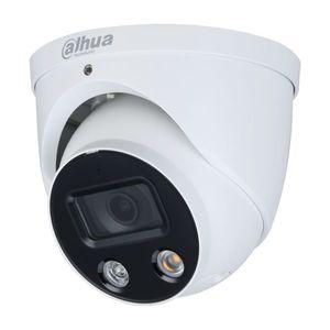 Camera supraveghere IP Dome Dahua Full Color WizSense IPC-HDW3849H-AS-PV-0280B, 4K, lumina alba 30 m, 2.8 mm, slot card, microfon imagine