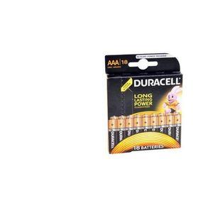 Baterie Duracell Basic AAA LR03, 18buc imagine
