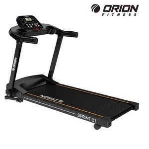Banda de alergat electrica Orion Sprint C1, viteza maxima 12 km/h, greutate maxima suportata 100kg, pliabila, 12 programe presetate imagine