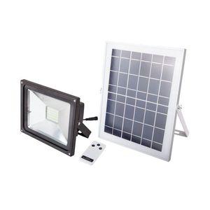 Proiector LED cu Incarcare Solara si Telecomanda Putere 12W (Set) imagine