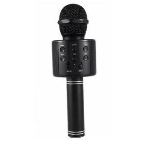 Microfon Karaoke Wireless, Negru imagine