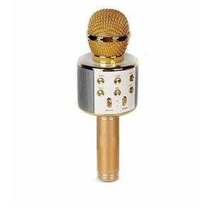 Microfon Karaoke Wireless, Auriu imagine