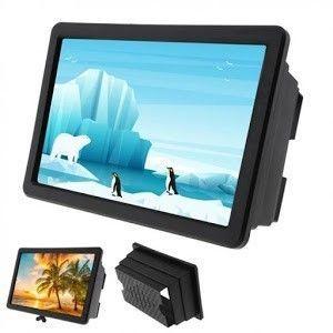 3d amplificator video film hd cu suport pliabil amplificator video de înaltă calitate imagine