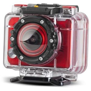 Camera Video de Actiune Energy Extreme, Full HD, 5 MP, Rezistenta la apa (Rosie) imagine
