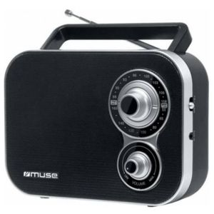 Radio Portabil Muse M-051 R (Negru) imagine