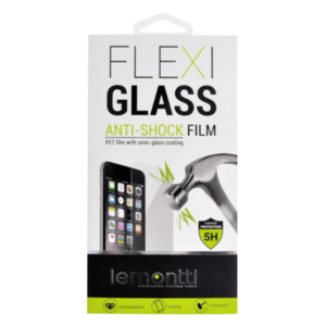 Folie Protectie Flexi-Glass Lemontti LFFGALC1X pentru Alcatel 1x (Transparent) imagine