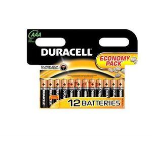 Baterie Duracell Basic AAA LR03, 12buc imagine