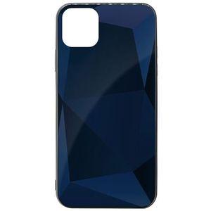 Husa Meleovo Carcasa Glass Diamond iPhone 11 Gray (spate de sticla) imagine