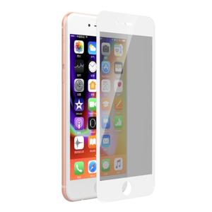 Folie Protectie Sticla Temperata Devia Privacy Full DVPVFIPH8PWH pentru iPhone 8 Plus / 7 Plus White (Transparent/Alb) imagine