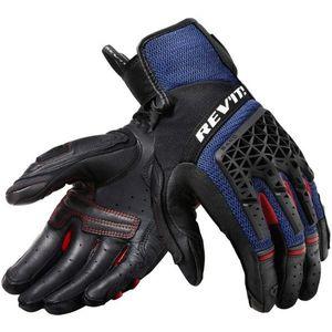 Rev'it! Sand 4 Negru-Albastru L Mănuși de motocicletă imagine