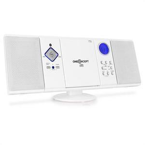 OneConcept Sistem audio stereo V-12 Alb imagine