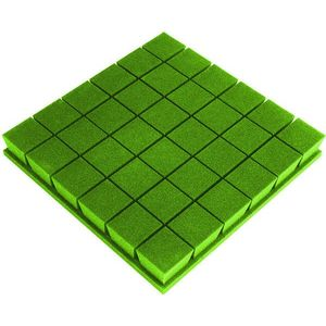 Mega Acoustic PA-PM-KOSTKA7-G-50x50x7 Verde imagine
