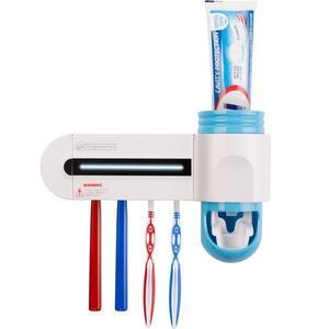 Helpmation GFS-302 - Dozator de pastă fără contact și sterilizator de periuță de dinți imagine
