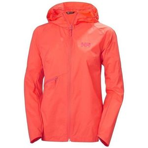 Helly Hansen W Rapid Windbraker Jacket Coral fierbinte Jachetă imagine