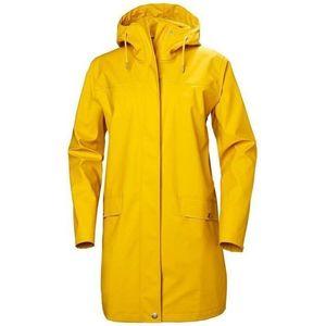 Helly Hansen W Moss Rain Coat Essential Yellow Jachetă imagine