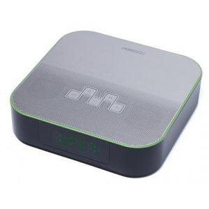 Radio cu ceas Horizon HAV-P4180, 6 W, Bluetooth, USB, Aux (Negru/Argintiu) imagine