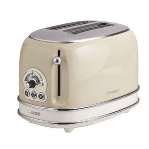 Prajitor de paine Ariete 0155CR/BG, 810 W, 2 Felii (Beige) imagine
