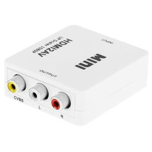 Convertor OEM HDMI Mama - RCA CVBS + Audio (Alb) imagine