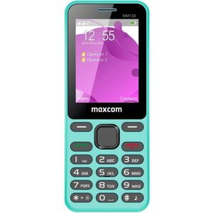 Telefon mobil MaxCom MM139, Ecran 2.4inch, 2G, Dual SIM (Albastru) imagine