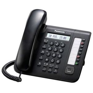 Telefon digital proprietar Panasonic KX-DT521X-B (Negru) imagine