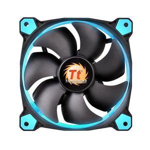 Ventilator PC Thermaltake Riing 12 120mm Blue LED fan imagine