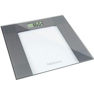 Cantar corporal Medisana PS 400, 150 kg, Sticla (Argintiu) imagine