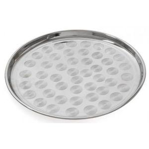 Tava rotunda Vanora VN-SNS-TPP-16, 35 cm (Inox) imagine