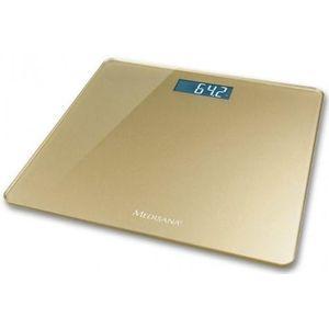 Cantar corporal Medisana PS420 40459, Ecran LCD , 150 kg, Oprire automata (Auriu) imagine