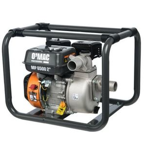Motopompa O-MAC MP 6500, 2inch, 4.1 kW, 6.5 CP, Benzina fara plumb imagine