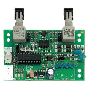 Modul interfata RS485 - fibra optica multimode UTC ATS1743, 15 dB, unidirectional/multidirectional, 60 mA imagine