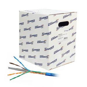 Cablu UTP CAT6 Schrack HSKU423H13, 4x2xAWG23/1, LS0H, Eca, 305 m imagine