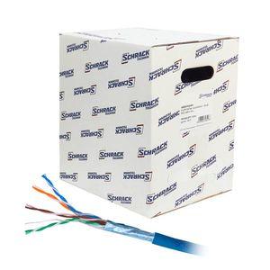 Cablu F/UTP CAT 5E Schrack HSEKF424H1, 4x2xAWG24/1, LS0H, Eca, 305 m imagine