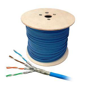Cablu S/FTP CAT.7 Schrack HSKP423HB1, 4x2xAWG23/1, 1000Mhz, LS0H, Dca, 1000 m imagine