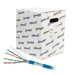 Cablu F/UTP CAT.5E Schrack HSEKF424P1, 4x2xAWG24/1, PVC, Eca, 305 m imagine