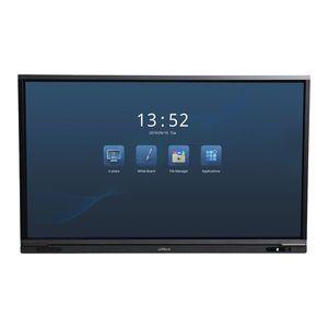 Tabla smart interactiva WiFi Dahua HIBOARD-A65H, 65 inch, 4K UHD ELED, slot card, Android 8.0, touch screen imagine