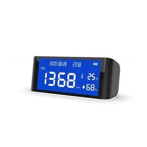 Senzor pentru detectarea calitatii aerului ZKTeco AQD-L100, CO2, PM2.5, temperatura, umiditate, plug and play imagine