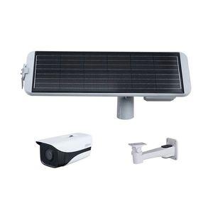 Sistem supraveghere GSM 4G de exterior Dahua KIT/PFM364L-D1/IPC-HFW4230MP-4G-AS-I2/PFB121W cu panou solar, 2 MP, IR 40 m, 3.6 mm, slot card imagine