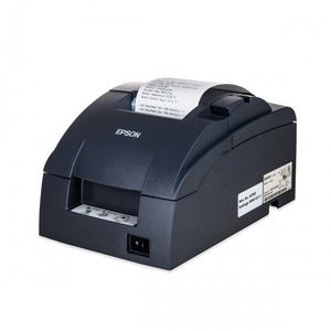 Imprimanta matriciala Epson TM-U220B serial cutter neagra imagine