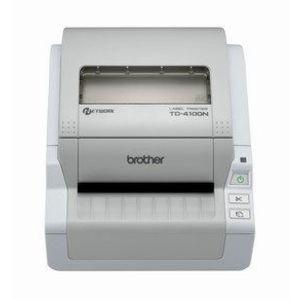 Imprimanta de etichete Brother TD-4100N 300DPI Ethernet auto-cutter imagine