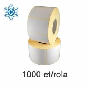 Role etichete termice ZINTA 58x43mm pentru congelate 1000 et./rola imagine
