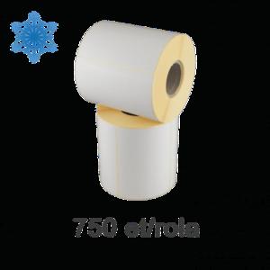 Role etichete semilucioase ZINTA 100x70mm pentru congelate 750 et./rola imagine