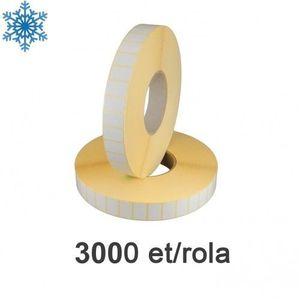 Role etichete termice ZINTA 28x15mm pentru congelate 3000 et./rola imagine