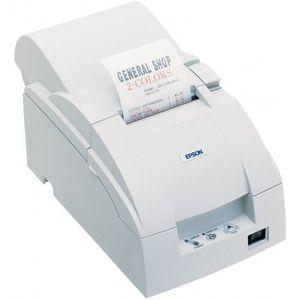 Imprimanta matriciala Epson TM-U220A Ethernet cutter alba imagine