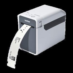 Imprimanta de etichete Brother TD-2120N 203DPI Ethernet cutter manual imagine