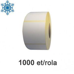 Role etichete termice ZINTA 58x61mm pentru congelate 1000 et./rola imagine