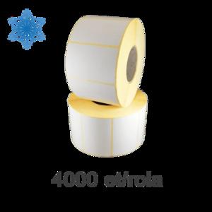 Role etichete semilucioase ZINTA 50x40mm pentru congelate 4000 et./rola imagine