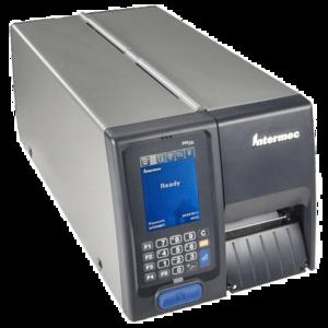 Imprimanta de etichete Honeywell PM43C 203DPI rewinder peeler imagine