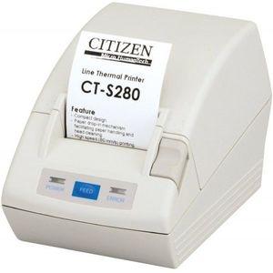 Imprimanta termica Citizen CT-S280 serial alba imagine