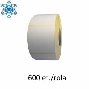 Role etichete termice ZINTA 58x80 mm pentru congelate 800 et./rola imagine